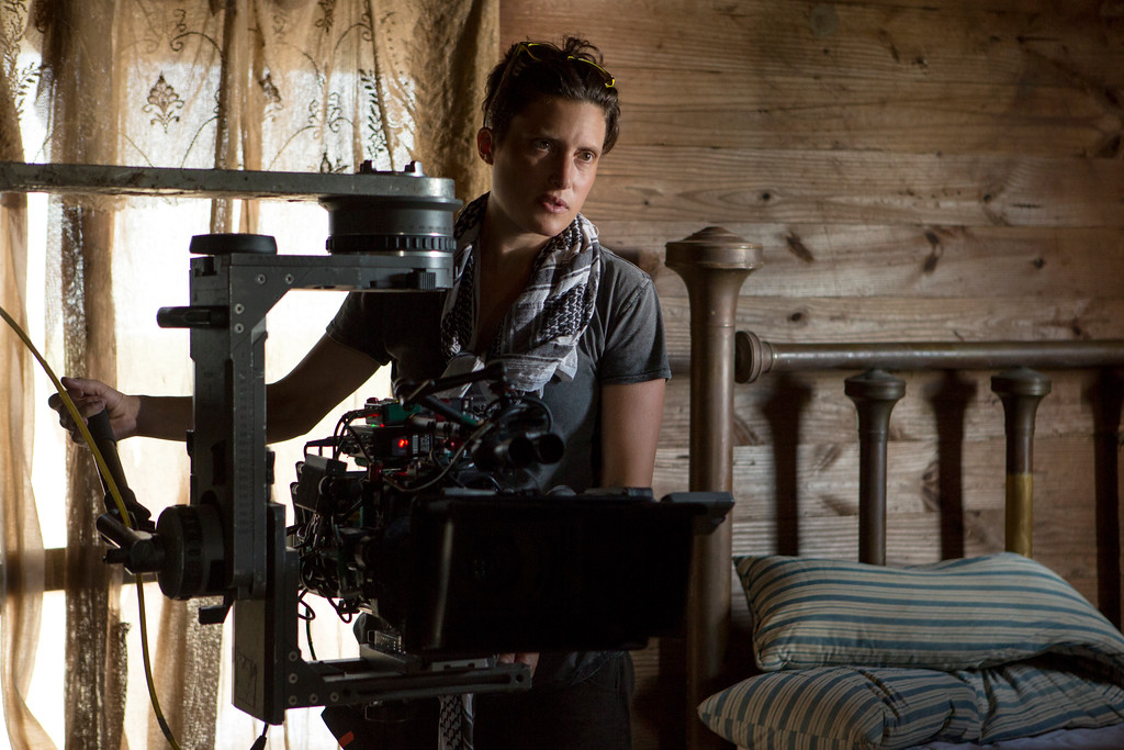 ". This image released by Netflix shows Rachel Morrison on the set of the film ""Mudbound.\"" Morrison was nominated for an Oscar for best cinematography on Tuesday, Jan. 23, 2018. The 90th Oscars will air live on ABC on Sunday, March 4. (Steve Dietl/Netflix via AP)"