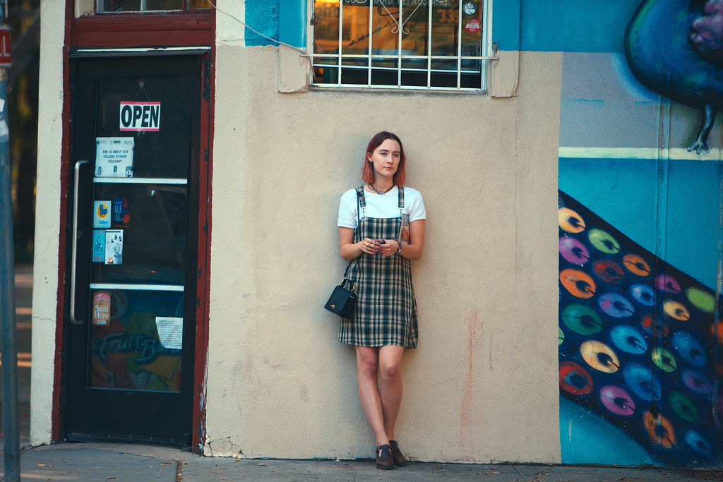 ". FILE - This file image released by A24 Films shows Saoirse Ronan in a scene from ""Lady Bird.\"" Ronan says she hopes that her latest film �Lady Bird� helps people to feel understood in the same way HBO show �Girls� helped her. Her performance has earned her some of the best reviews of her career and could result in a third Oscar nomination for the 23-year-old Irish actress. (Merie Wallace/A24 via AP, File)"