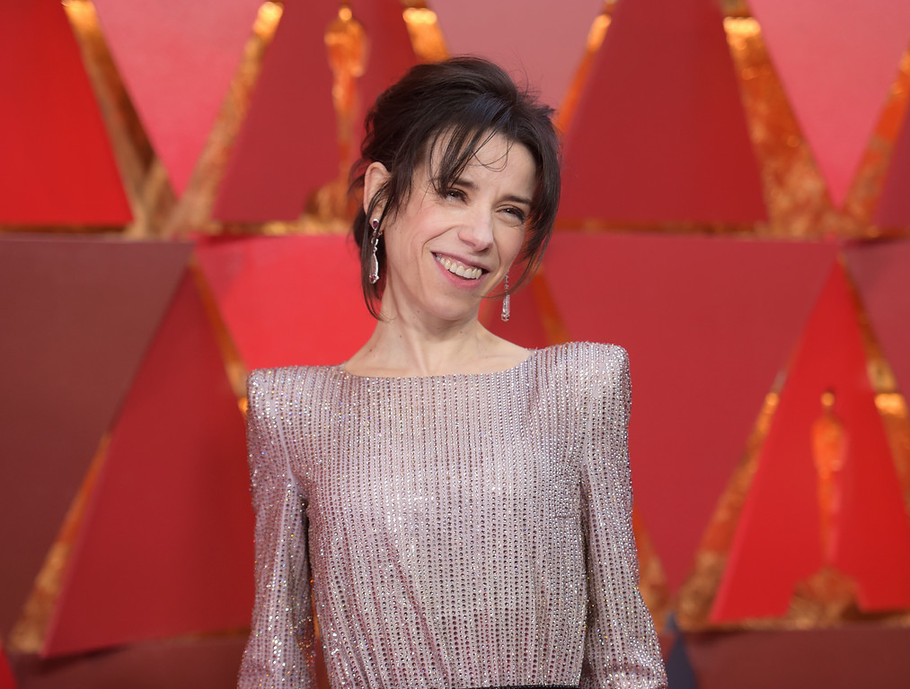 . Sally Hawkins arrives at the Oscars on Sunday, March 4, 2018, at the Dolby Theatre in Los Angeles. (Photo by Richard Shotwell/Invision/AP)