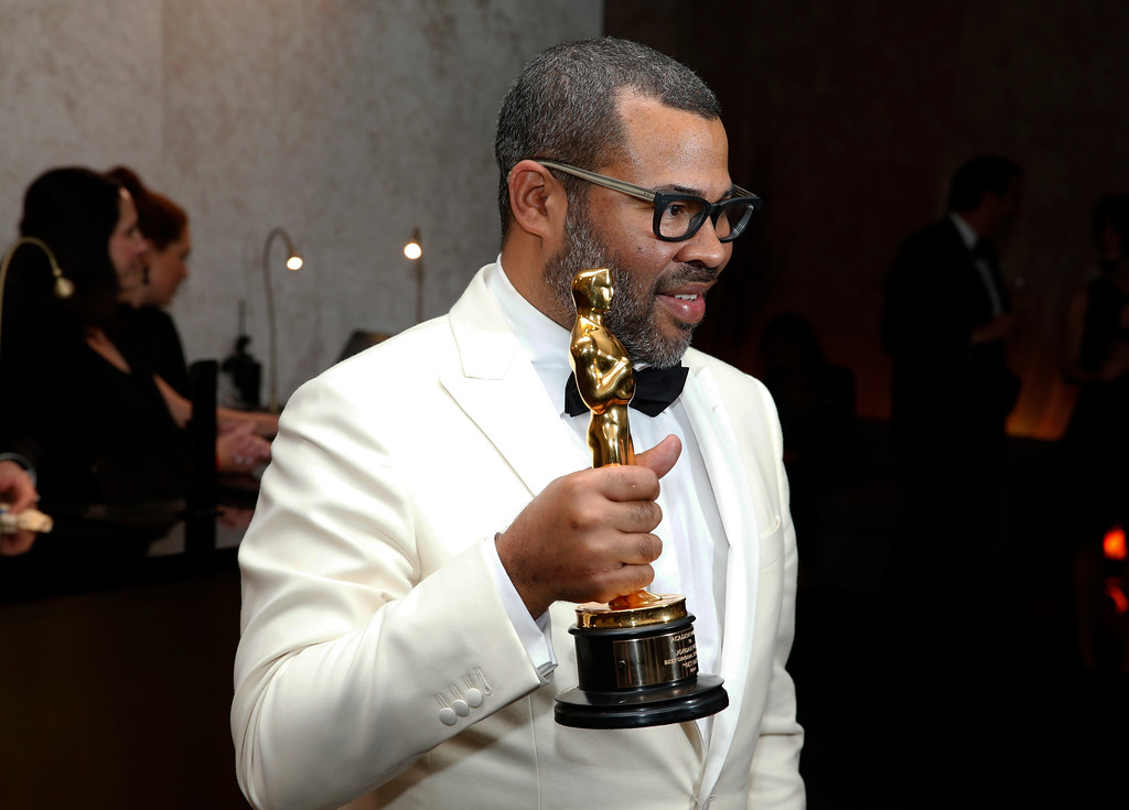 . Jordan Peele attends the Governors Ball after the Oscars on Sunday, March 4, 2018, at the Dolby Theatre in Los Angeles. (Photo by Eric Jamison/Invision/AP)