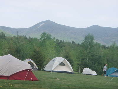 Chiltern Mountain Club was hosting their annual Spring Jamboree nearby at the Osceola Vista Campground in Waterville Valley.