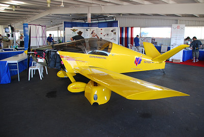 A KR-2 kitplane converted to electric power.