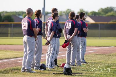 2018 Oshkosh Giants at De Pere Dodgers
