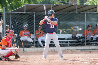 2018 Oshkosh Giants at Lombard Orioles (DH1)