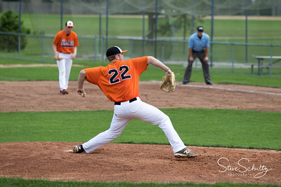 2018 Oshkosh Giants at Lombard Orioles (DH2)