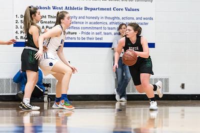 OW Basketball vs Oshkosh North (Girls)