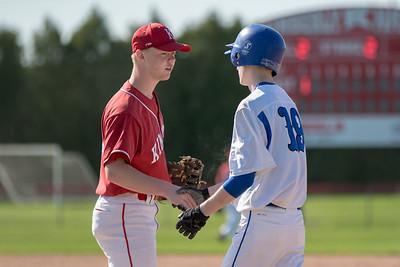 2018 Oshkosh West Freshman Baseball - at Kimberly