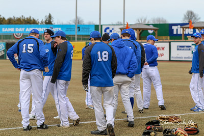 2018 Oshkosh West Varsity Baseball - vs Winneconne at FCS