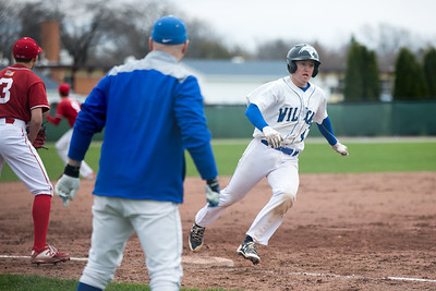 High School JV Baseball between Oshkosh West and Kimberly played 5/3/19 at Peppler Field at Oshkosh West High School.