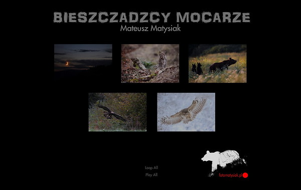 """Diaporama """"Bieszczadzcy Mocarze"""" edycja 12.2017"""