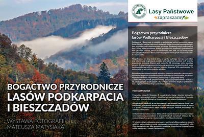 """Fotogram otwarcia wystawy """"Bogactwo przyrodnicze lasów Podkarpacia i Bieszczadów"""" w Sejmie Rzeczypospolitej Polskiej, 2017"""