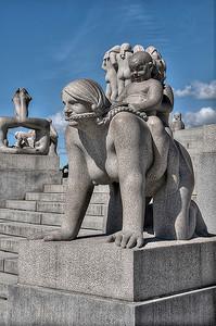 statue park  oslo