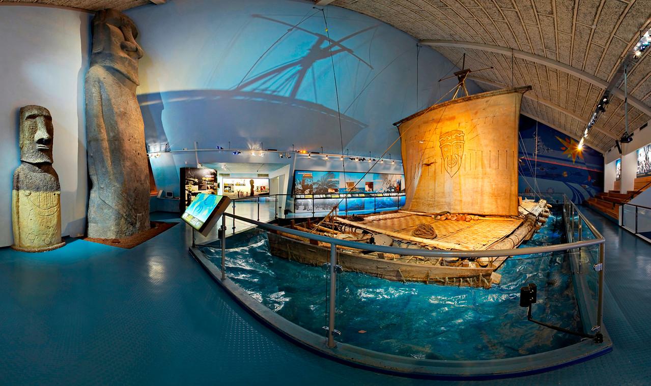 Όσλο. Χερσόνησος Bygdøy. Μουσείο Kon-Tiki