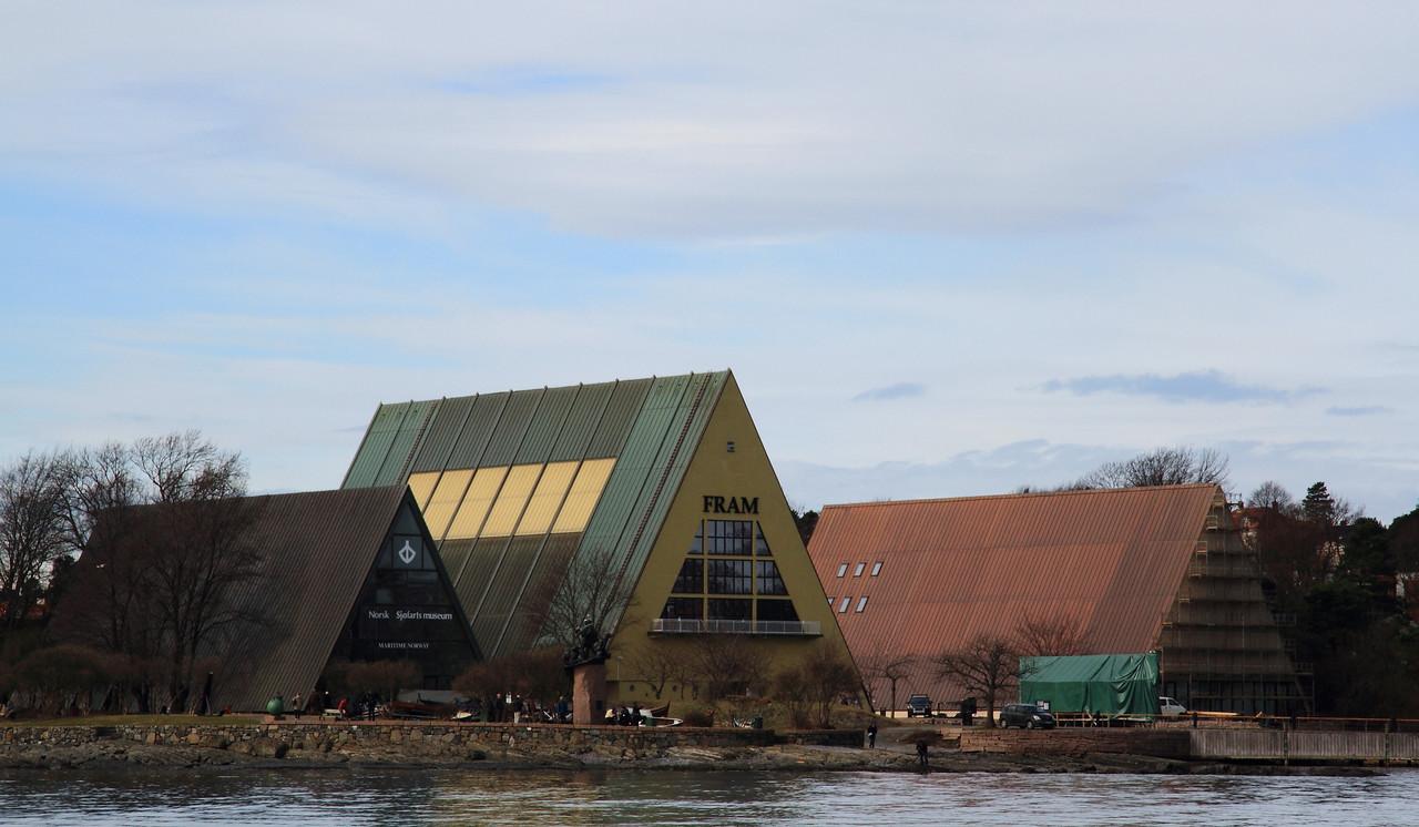 Όσλο. Χερσόνησος Bygdøy. Μουσεία Βίκιγκς, Fram και Kon-Tiki