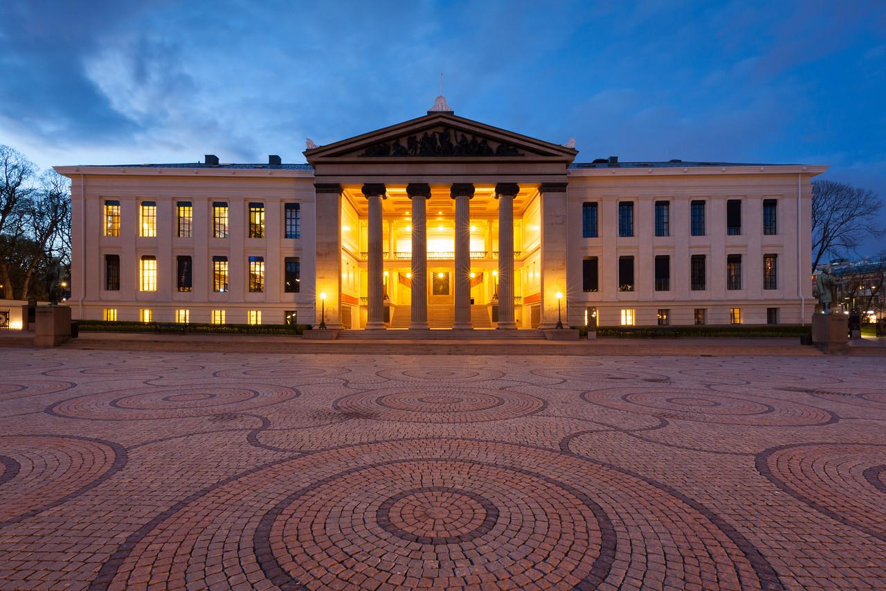 The Old University - Det gamle universitetet