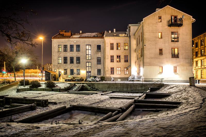 Baksiden av Oslo gate 15-17, Gamlebyen