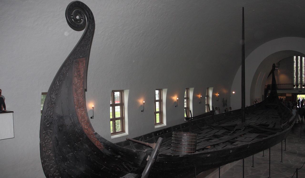 Όσλο. Χερσόνησος Bygdøy. Ναυτικό Μουσείο των Βίκινγκς