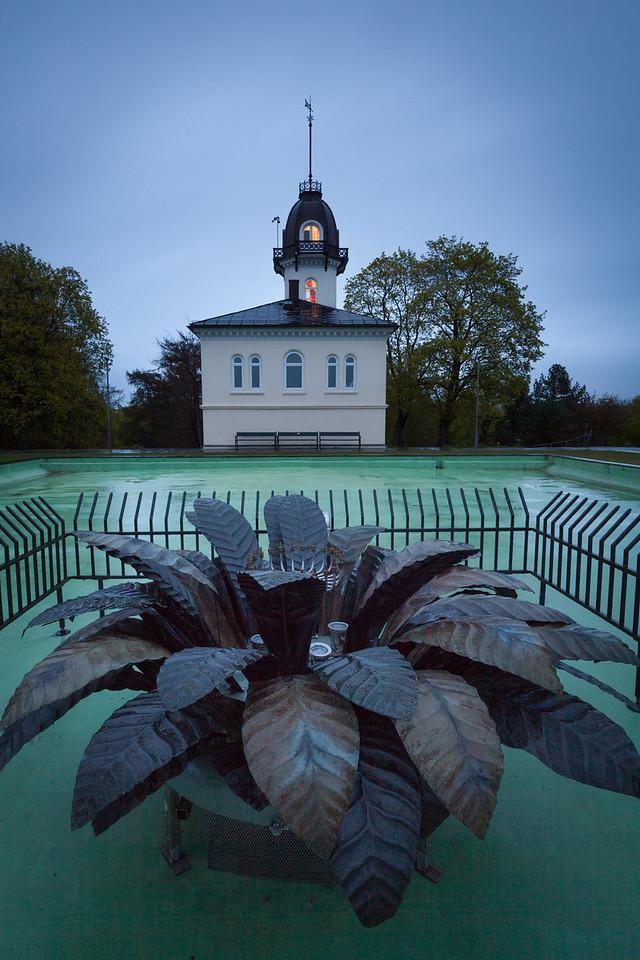 The Tower House at St Hanshaugen.  Tårnhuset på St Hanshaugen