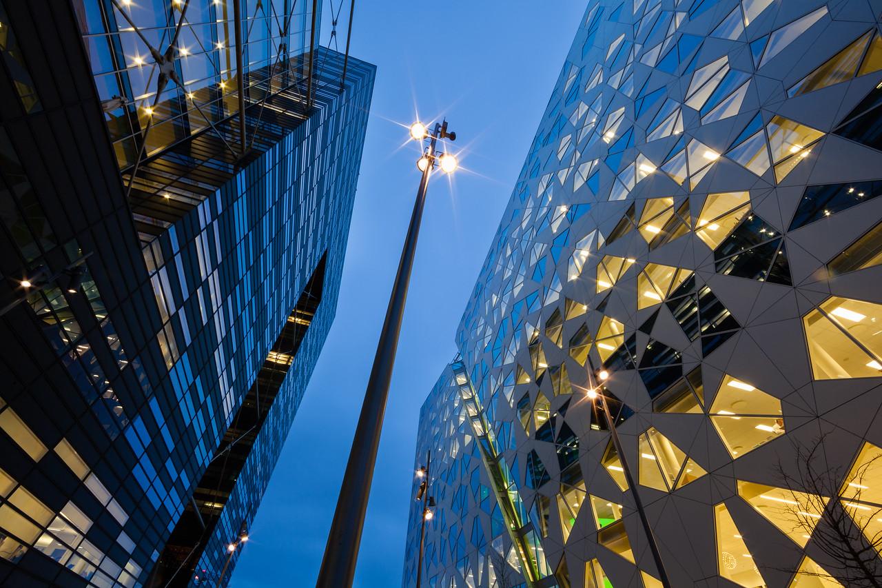 Bar Code buildings in Oslo - Bar Code i Oslo