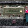 Lemmys gravsted, Forest Lawn Memorial, Glendale, LA