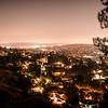Utsikt fra Griffith Park, Los Feliz, LA