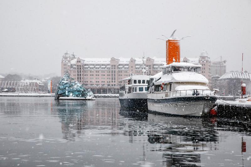 Havnelageret, Bjørvika