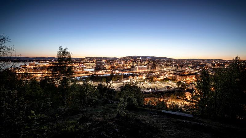 Utsikt fra Ekebergparken