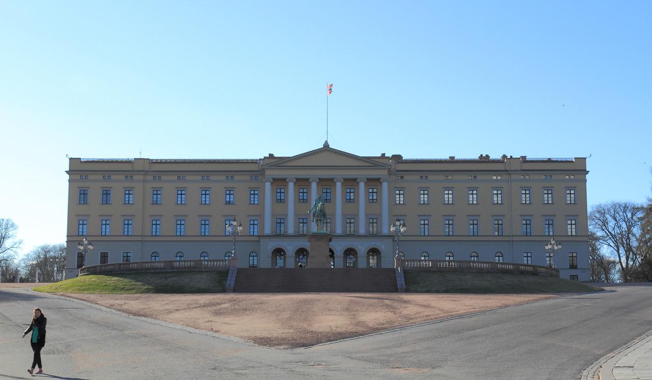 Όσλο. Το Βασιλικό παλάτι (Det kongelige slott)