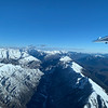 Flying in weak wave lift, north wind
