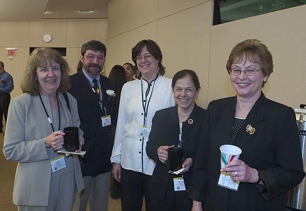 2004-2005 Retiring and Newly-Tenured Teachers Honored