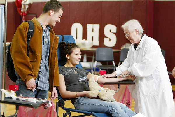 SADD Blood Drive at OHS