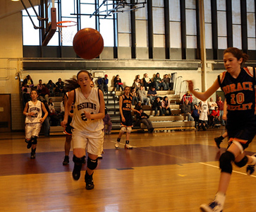 OHS Girls Varsity Basketball Team Loses a Tough One to Horace Greeley