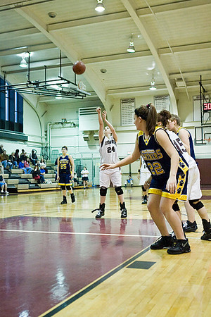 Ossining Girls Varsity Basketball Team Wins Big!