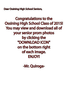 OHS Prom