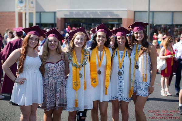 2016 OHS Graduation OUTSIDE