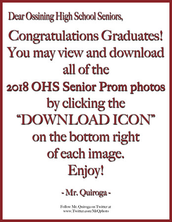 2018 OHS Graduation COVER