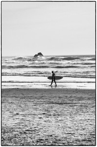 Surfer, Oswald West State Park, OR