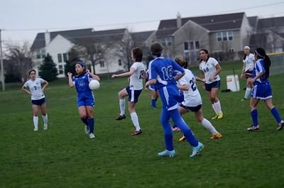 OE Girls JV Soccer Vs Rosary 2016 746