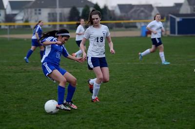 OE Girls JV Soccer Vs Rosary 2016 748