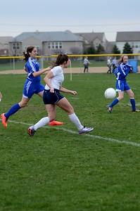 OE Girls JV Soccer Vs Rosary 2016 057