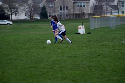 OE Girls JV Soccer Vs Rosary 2016 736