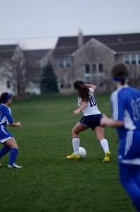 OE Girls JV Soccer Vs Rosary 2016 756