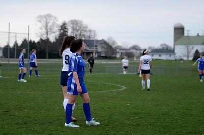 OE Girls JV Soccer Vs Rosary 2016 032