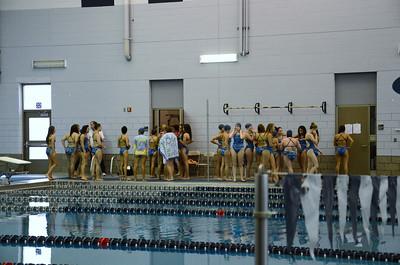 Oswego girls swim team Vs Rosary 2013 001