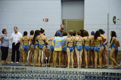 Oswego girls swim team Vs Rosary 2013 003