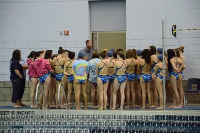 Oswego girls swim team Vs Rosary 2013 007