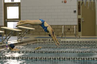 Oswego girls swim team Vs Rosary 2013 662