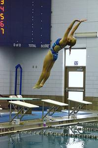 Oswego girls swim team Vs Rosary 2013 013