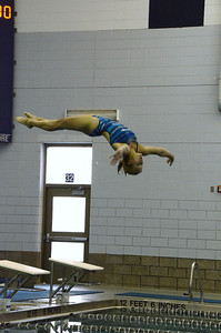 Oswego girls swim team Vs Rosary 2013 014