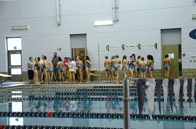 Oswego girls swim team Vs Rosary 2013 002